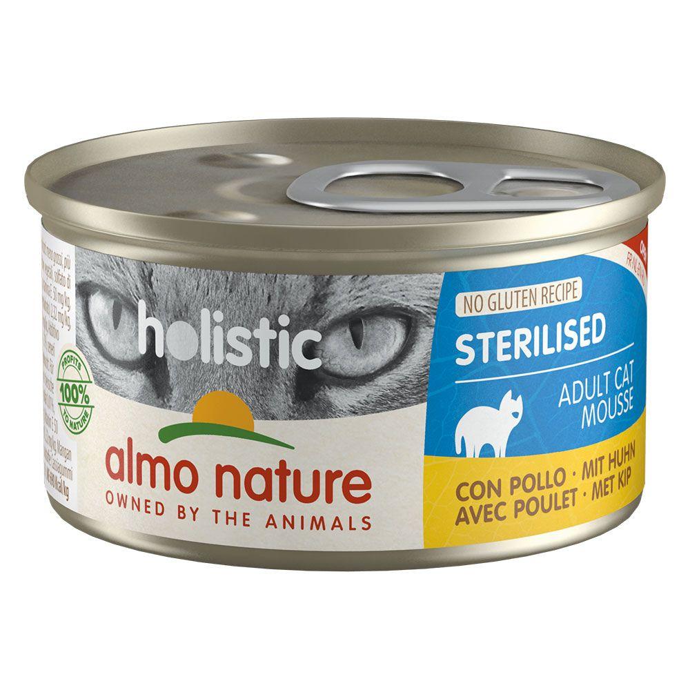 Bilde av Almo Nature Holistic Specialised Nutrition 12 X 85 G - Sterilised Med ørret
