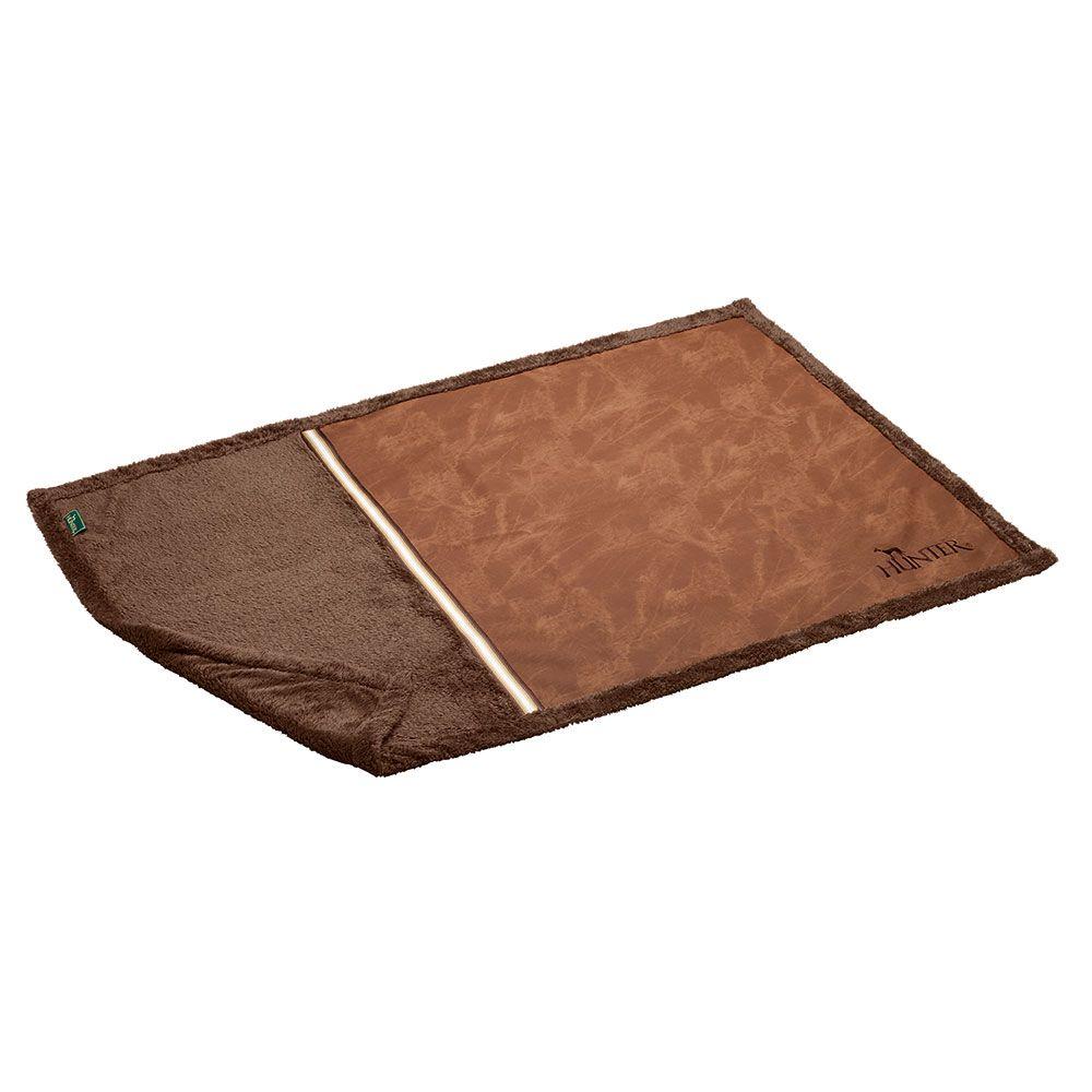 120x80cm brown Göteburg Hunter Dog Blanket