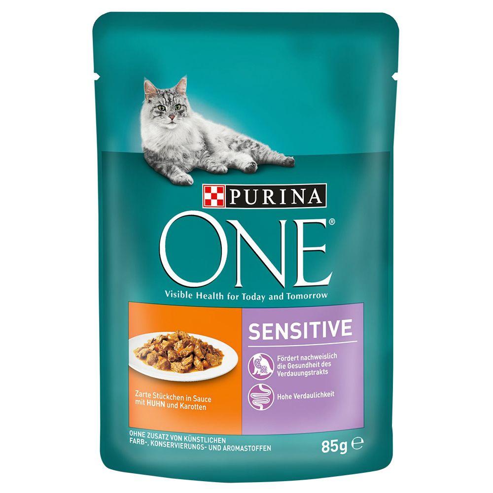 Purina One Sensitive - Huhn/Karotte 12 x 85 g