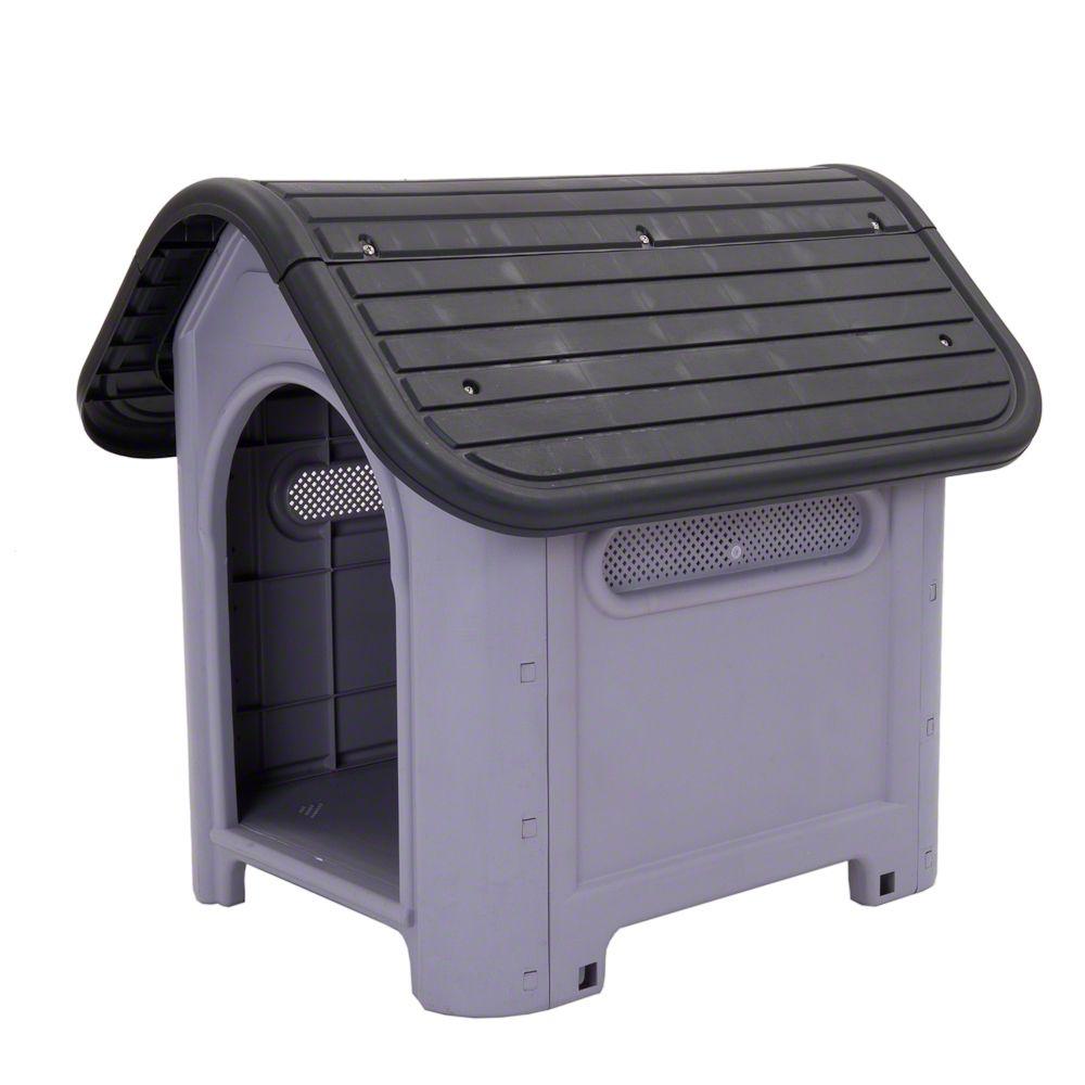 Polly hundkoja av plast – Stl. M: B 72 x D 87 x H 75 cm