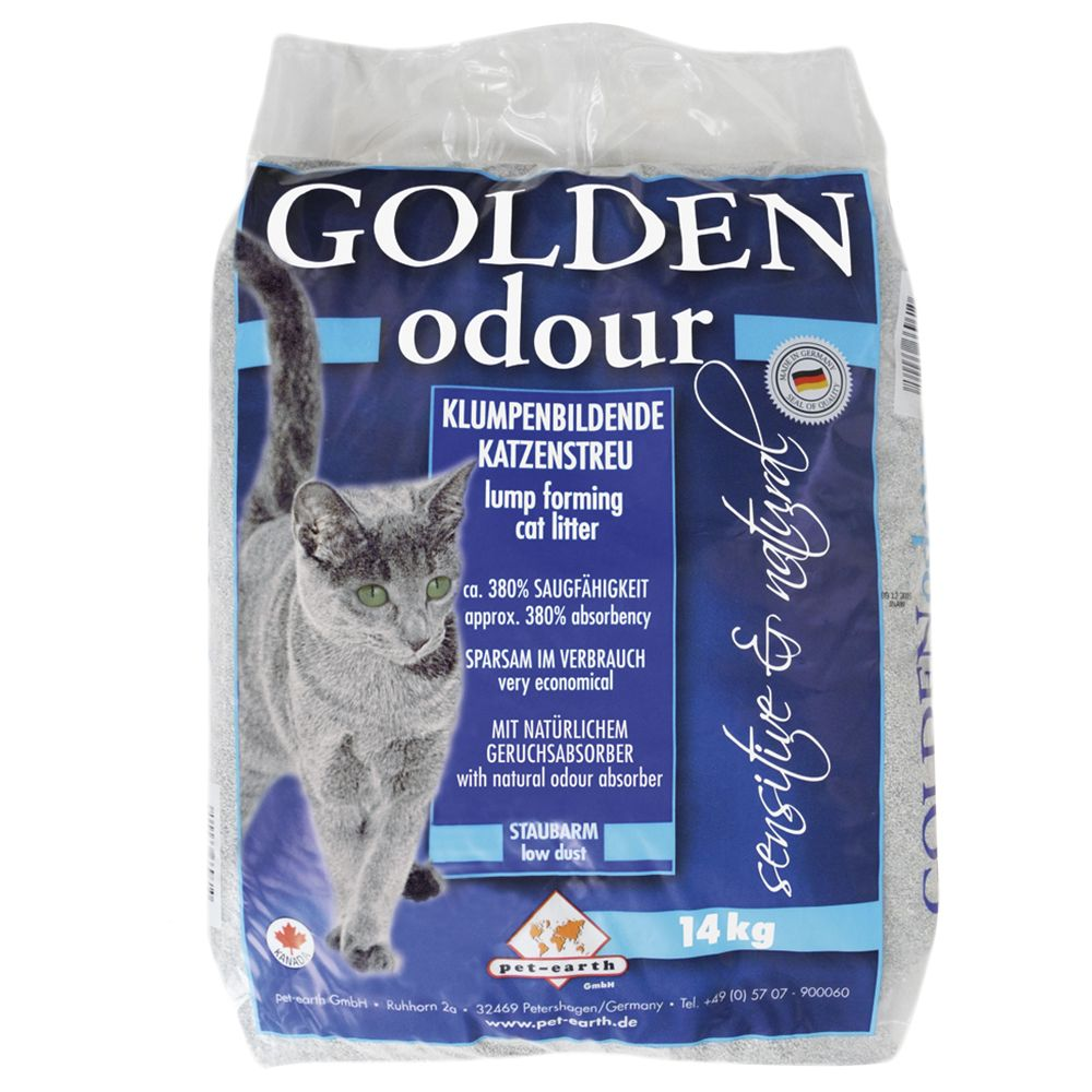 Chat Litière Golden Grey Golden Litière pour chat Golden Odour