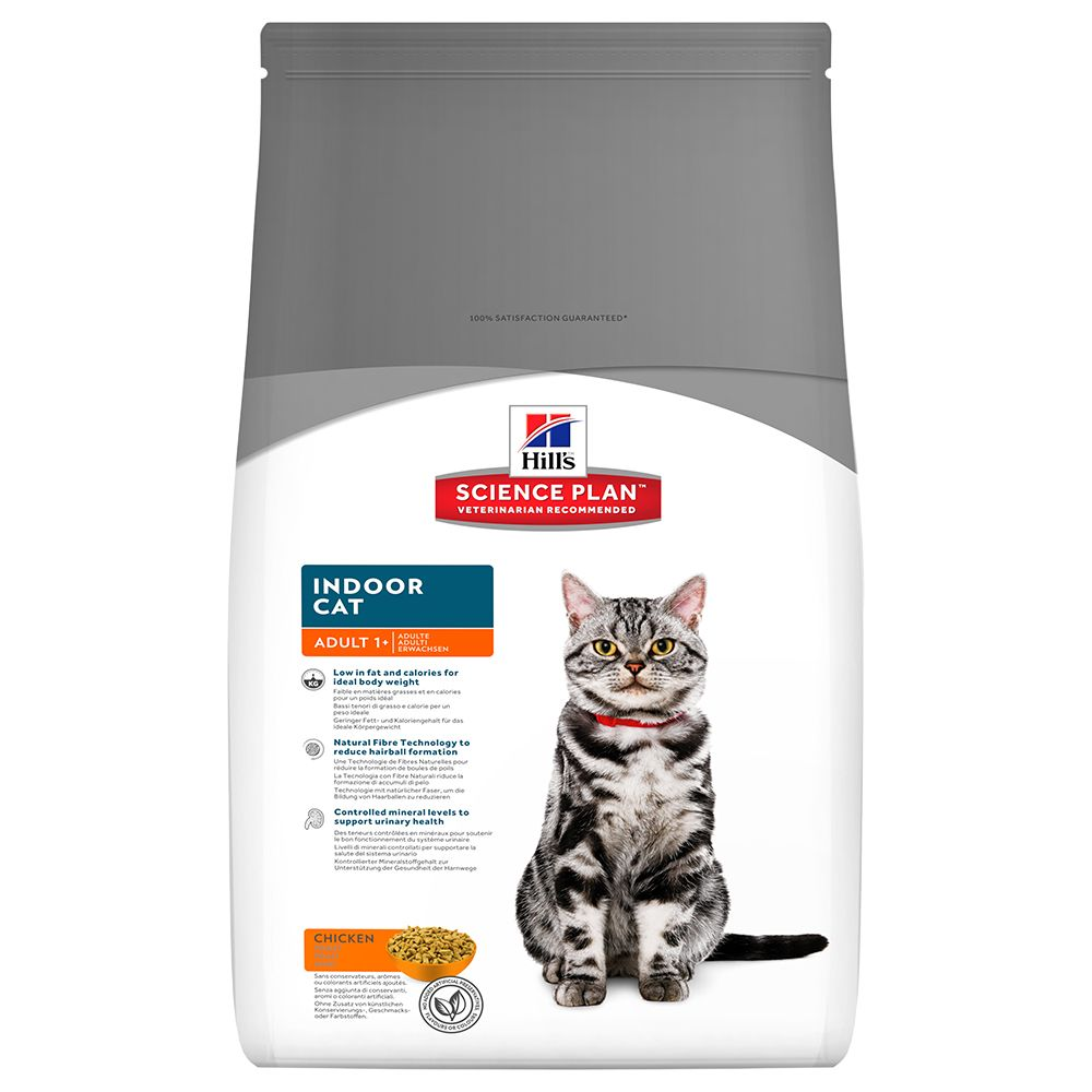 Hill's Science Plan Adult 1-6 Indoor Cat Chicken - 4 kg