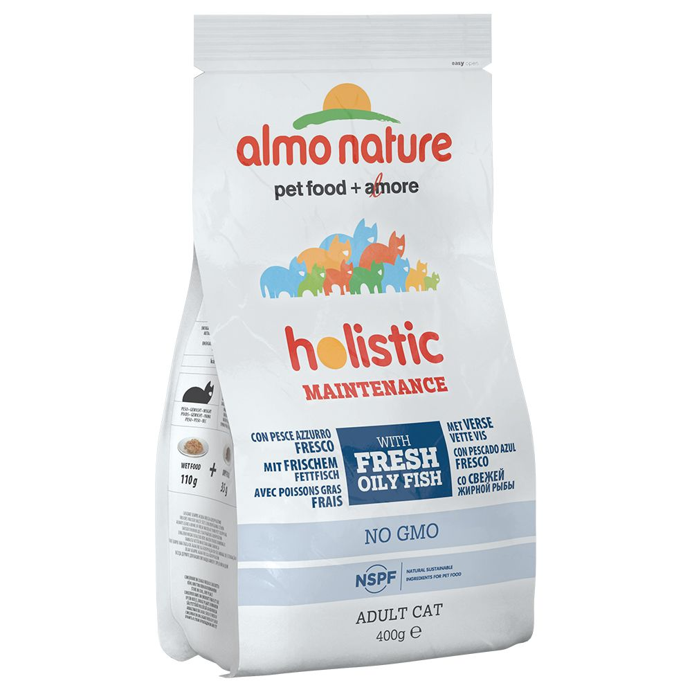 Image of Almo Nature Holistic Fettfisch & Reis - 2 kg