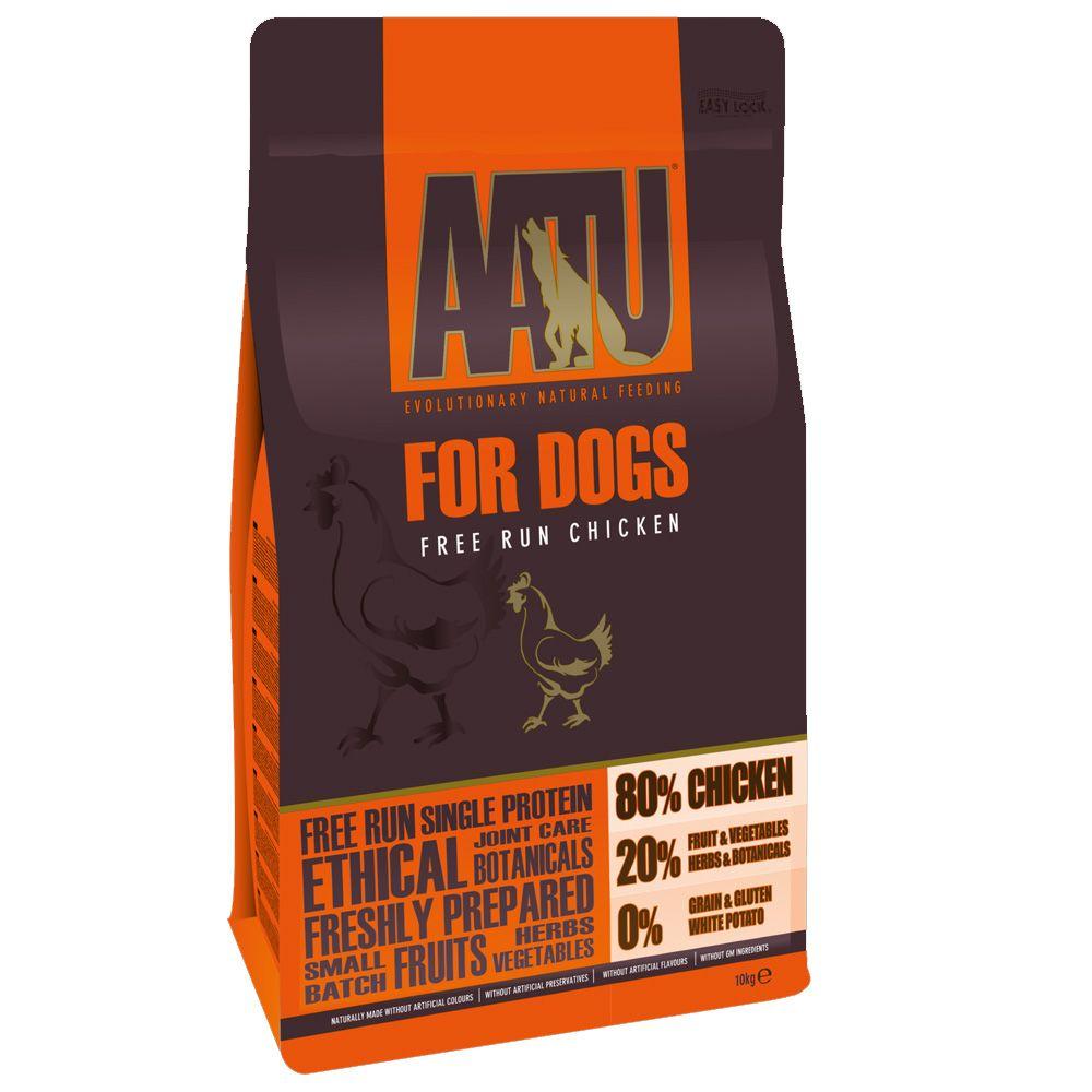 10kg AATU 80/20 Complete Grain Free Dry Dog Food + 1.5kg Free!* - Salmon