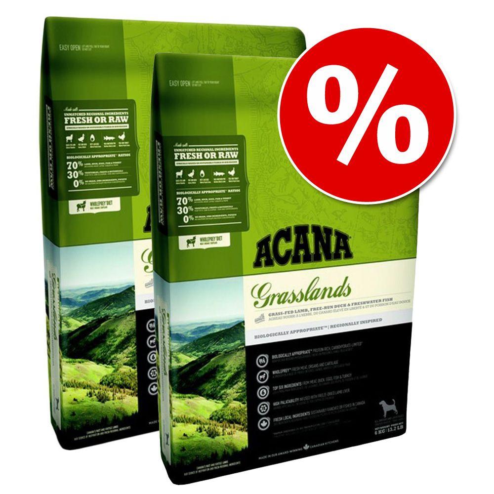 Image of Sparpaket: 2 x 11,4 kg Acana Hundefutter - Singles Grass-Fed Lamb