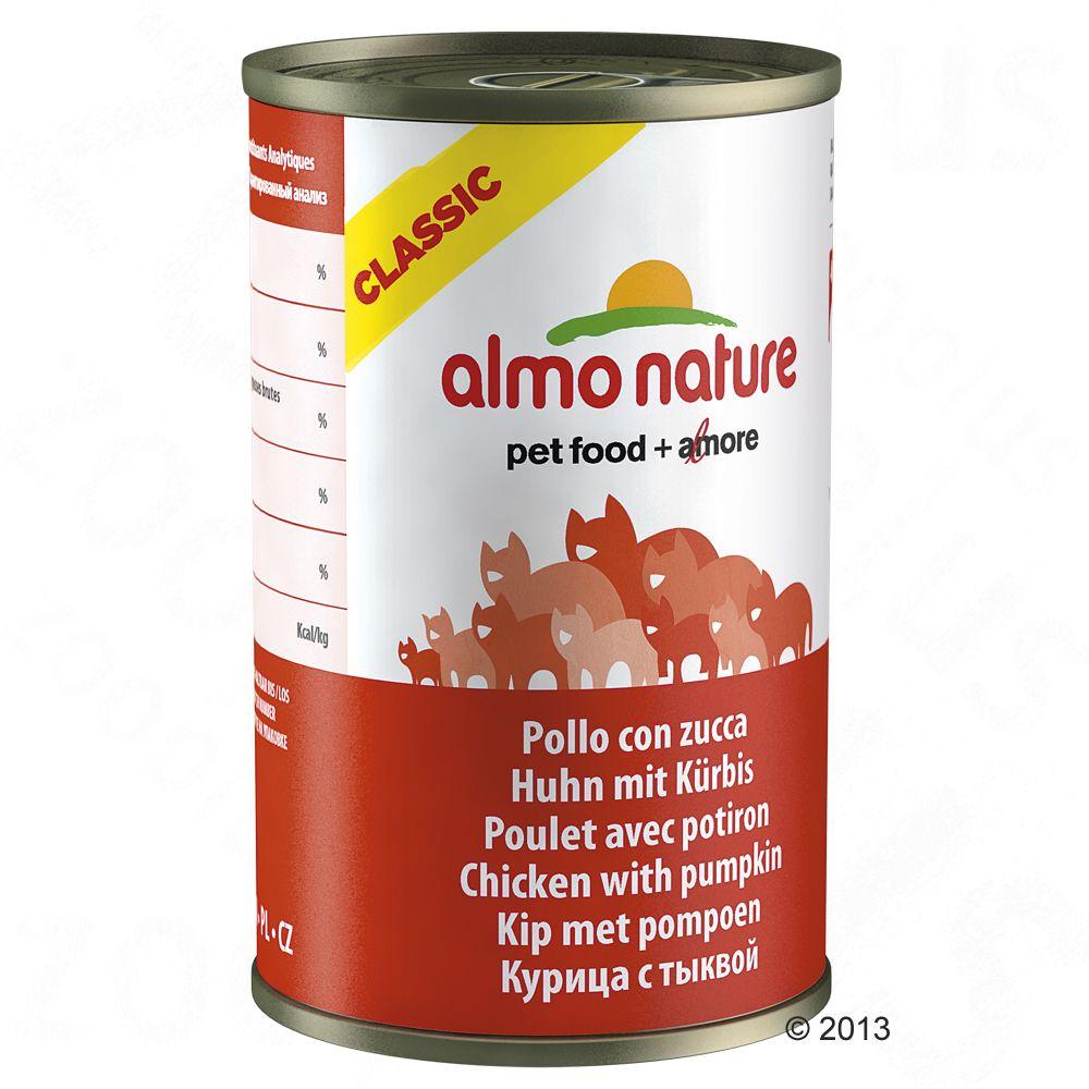 Almo Nature Classic, 6 x 140 g - Pierś z kurczaka