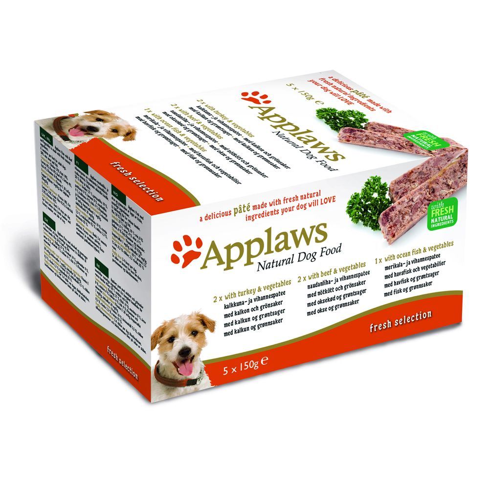 150g Applaws Dog Pate Multipack