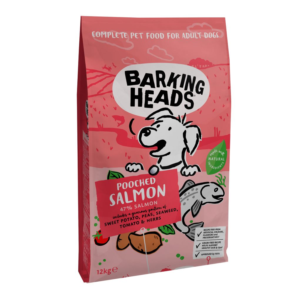 Barking Heads Pooched Salmon - 18kg