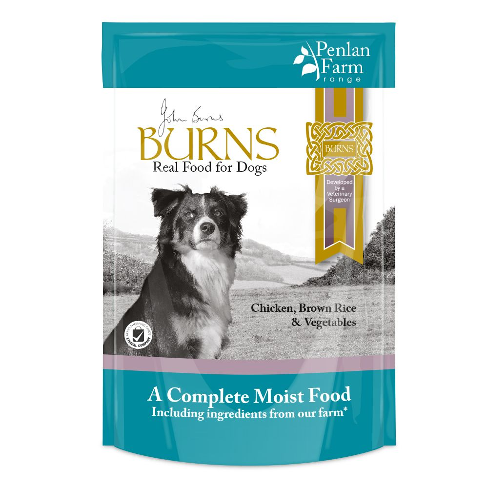 BurnsPenlan Farm ChickenBrown Rice & Vegetables Wet Dog Food
