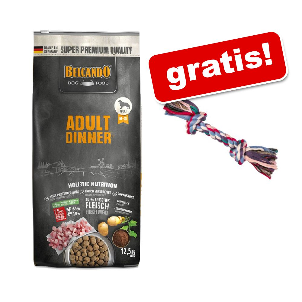 Image of 12,5 kg Belcando Adult + Corda gioco Trixie gratis! - Dinner