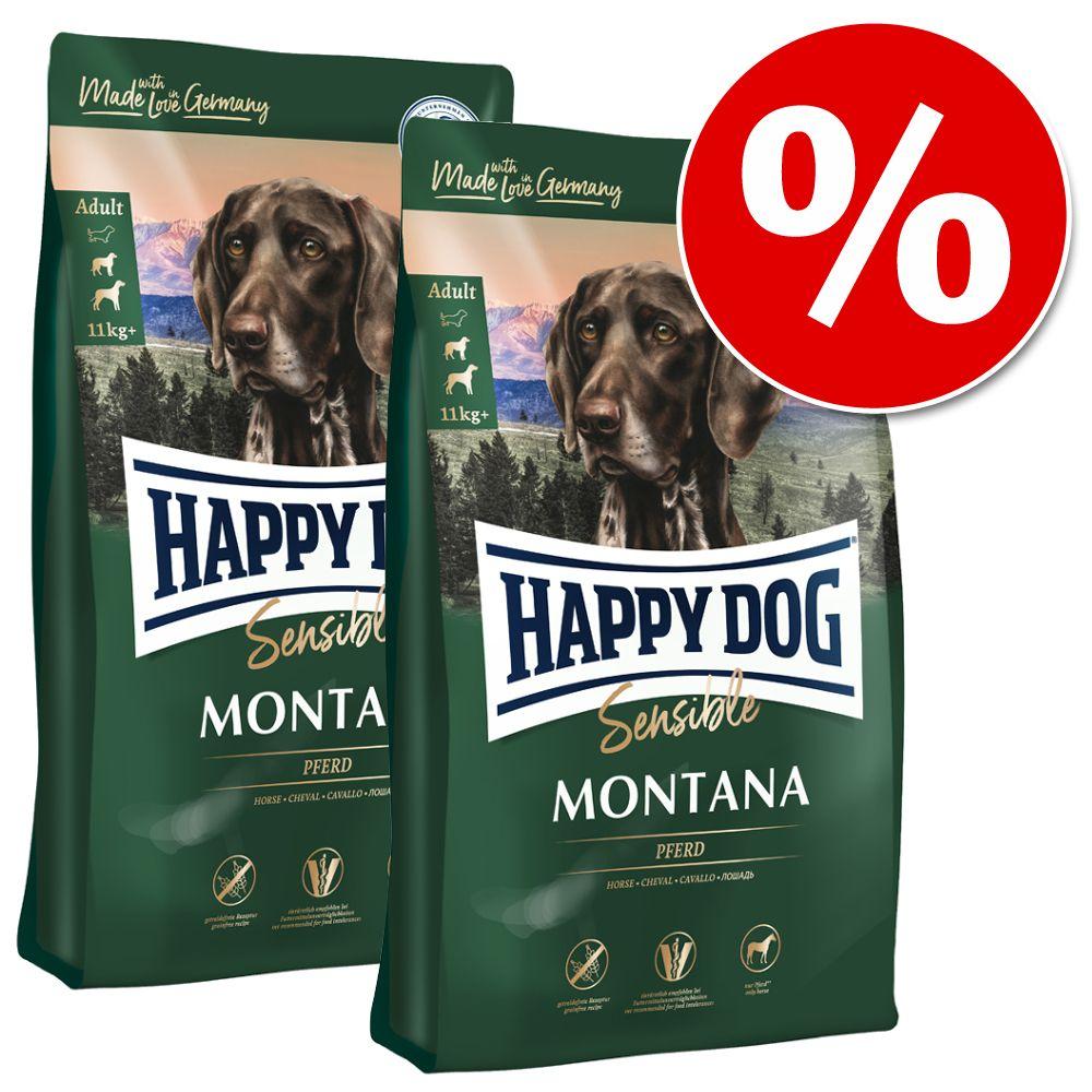 Ekonomipack: 2 x 7,5 / 10 / 12,5 kg Happy Dog torrfoder till lågt pris! - Young Junior Grainfree (2 x 10 kg)
