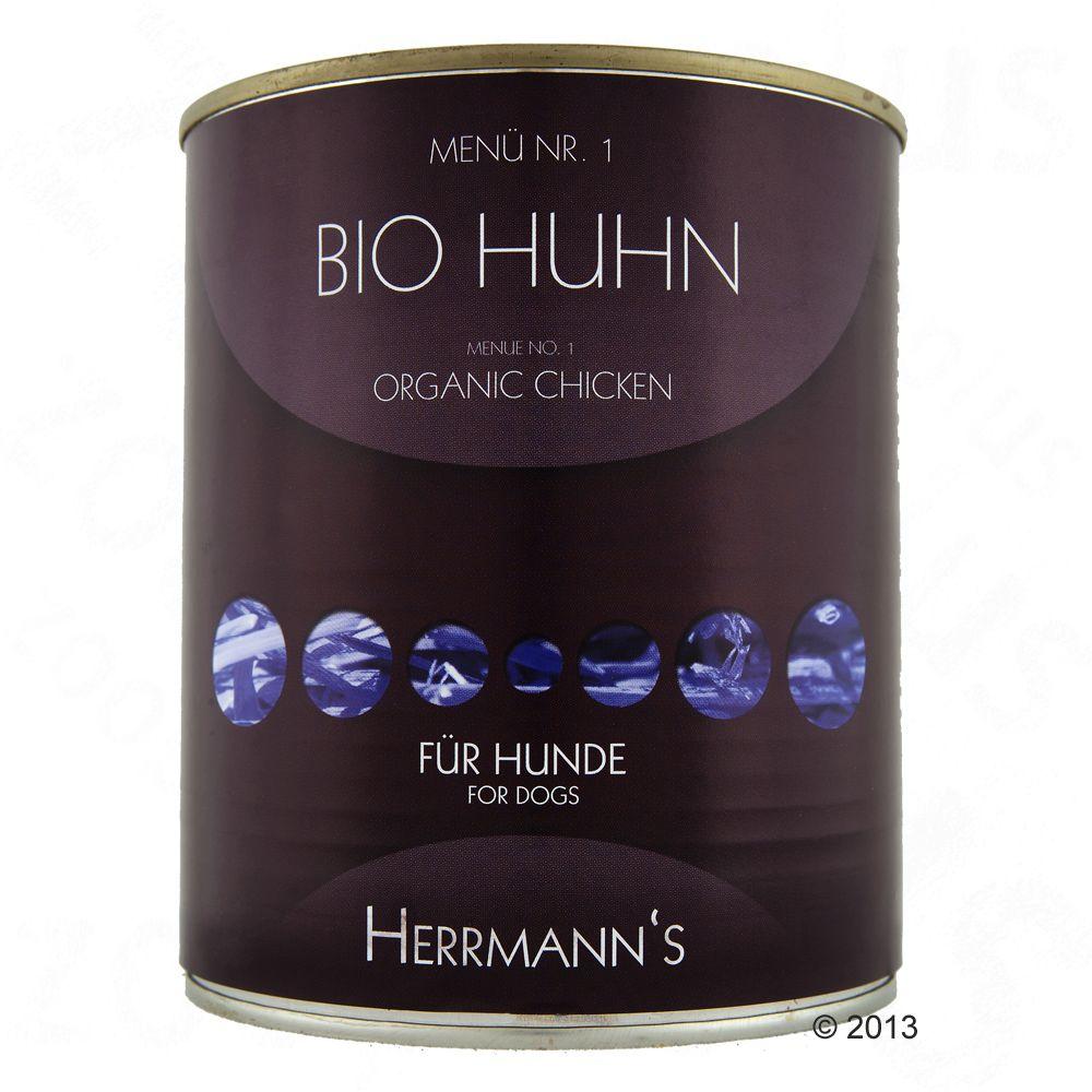 Herrmanns Meny 6 x 800 g - Blandpack I: 6 sorters fågelkött