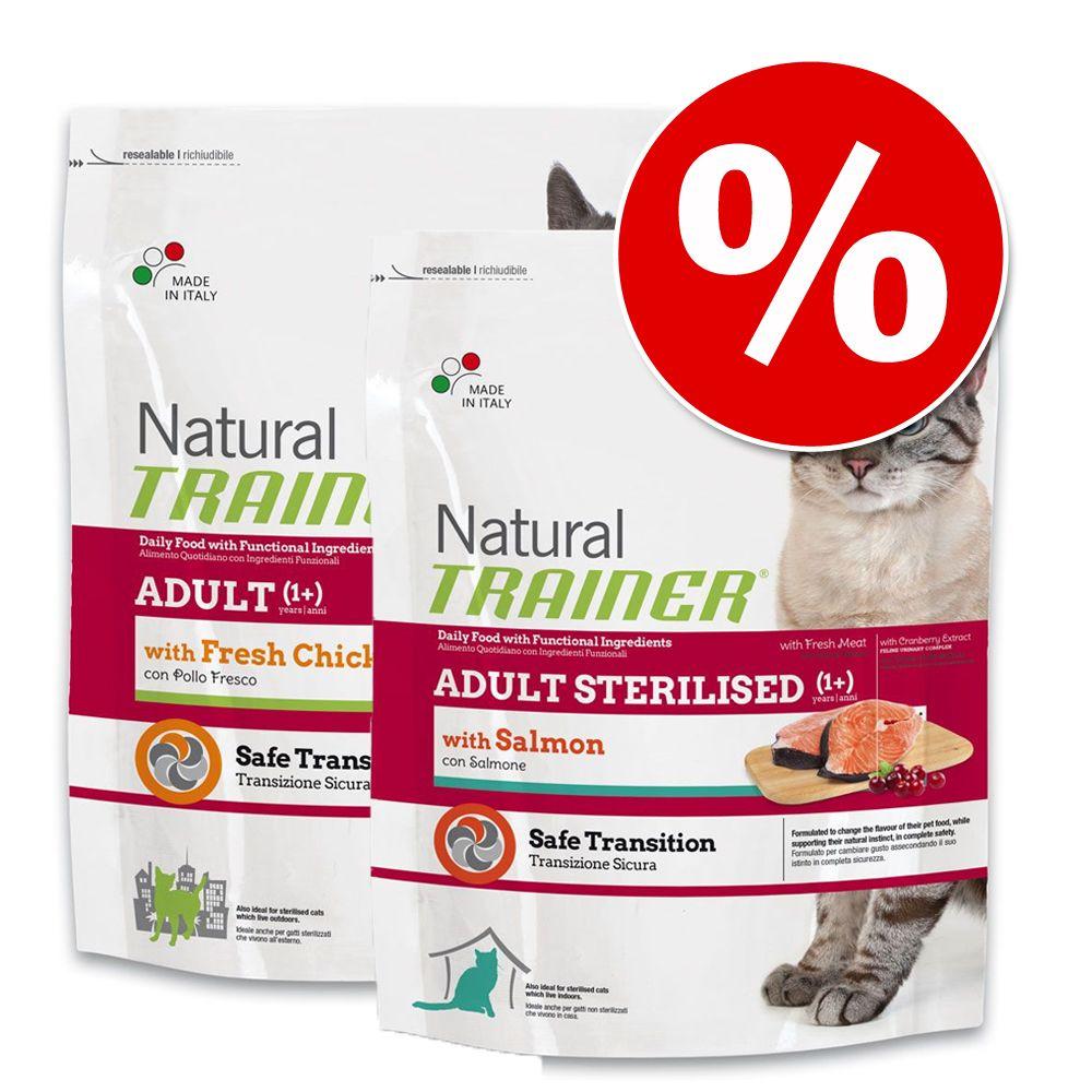 Image of Set risparmio! Trainer Natural - 2 x 3 kg Sterilised con Carni Bianche Fresche