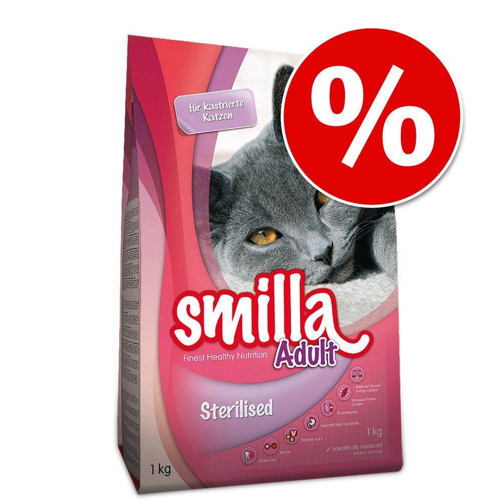 Smilla 2 x 10 kg pienso para gatos - Pack Ahorro - Adult Sterilised