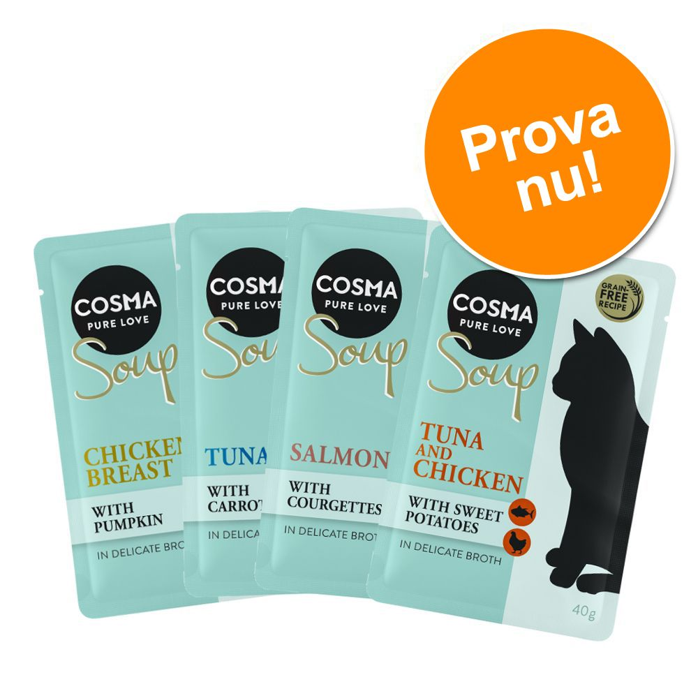 Provpack: Cosma Soup 4 x 40 g 4 x 40 g