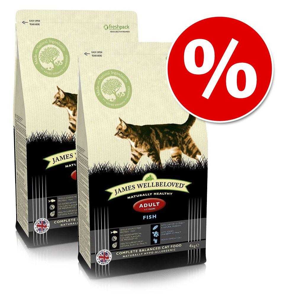Ekonomipack: 2 x James Wellbeloved kattfoder till lågpris! - Adult Turkey & Rice (2 x 10 kg)