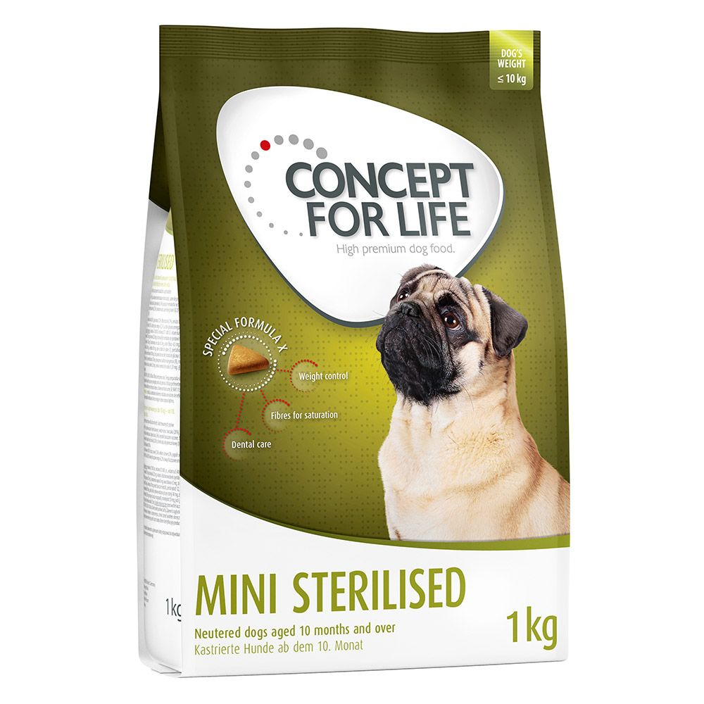 Concept for Life Mini Sterilised - 1kg