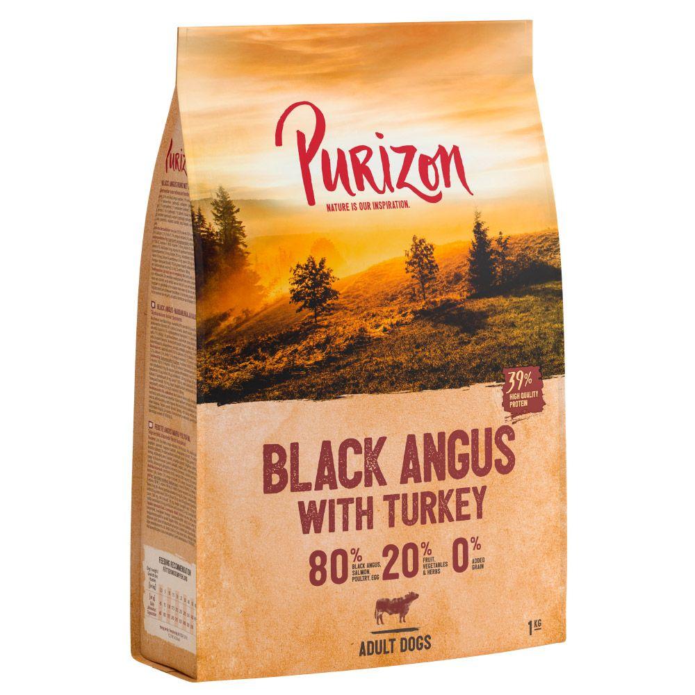 Purizon Black Angus Beef with Turkey Adult – Grain-free - 12kg