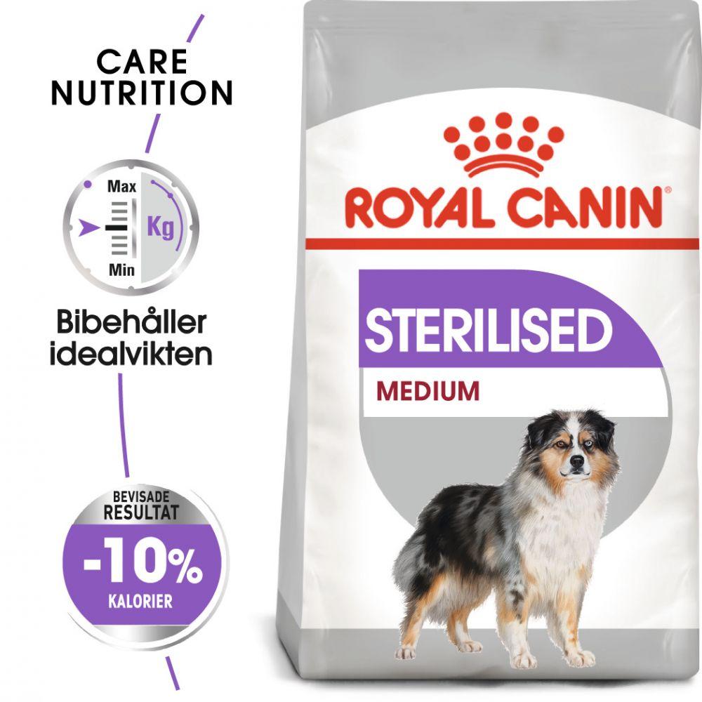 Royal Canin CCN Medium Adult Sterilised Ekonomipack: 2 x 10 kg
