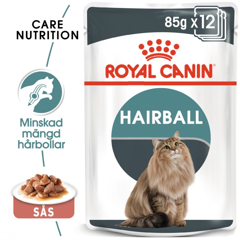 Royal Canin Hairball Care i sås - 48 x 85 g
