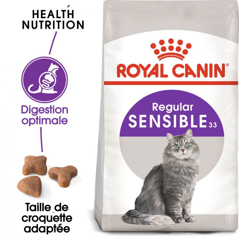 2kg Sensible 33 Royal Canin Croquettes pour chat