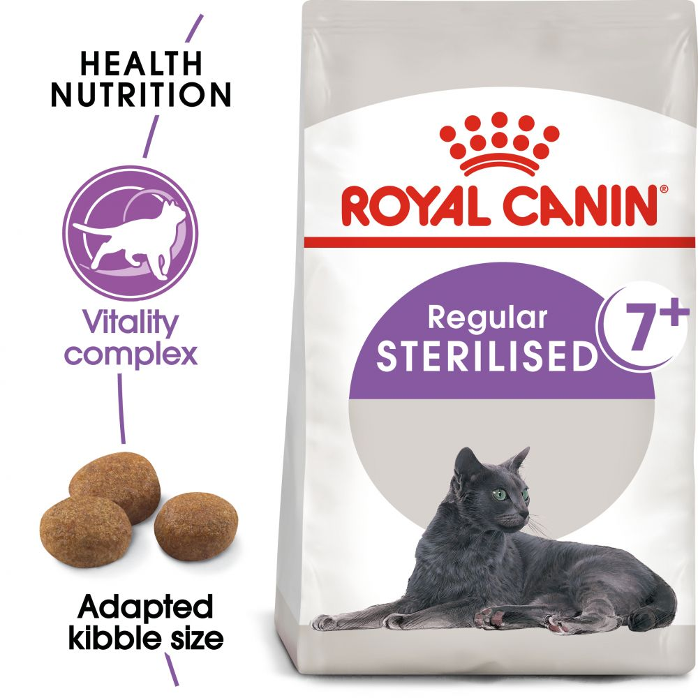 Royal Canin Sterilised 7+ - 3,5 kg