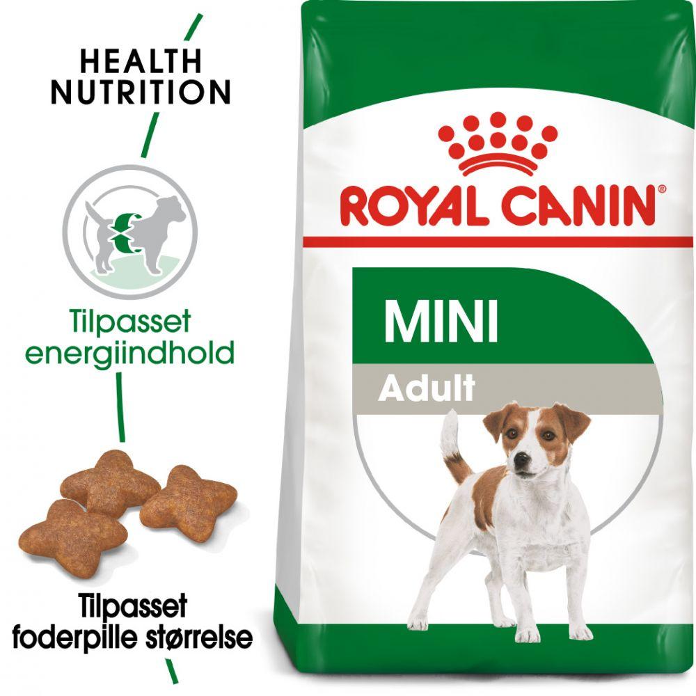 2kg Mini Adult Royal Canin Hundefoder