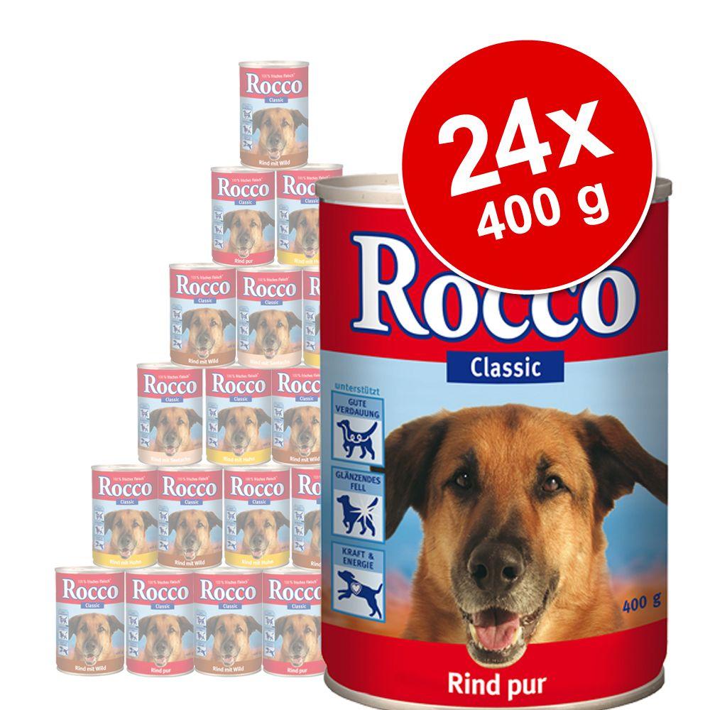 Foto Rocco Classic 24 x 400 g - Manzo con Pollo