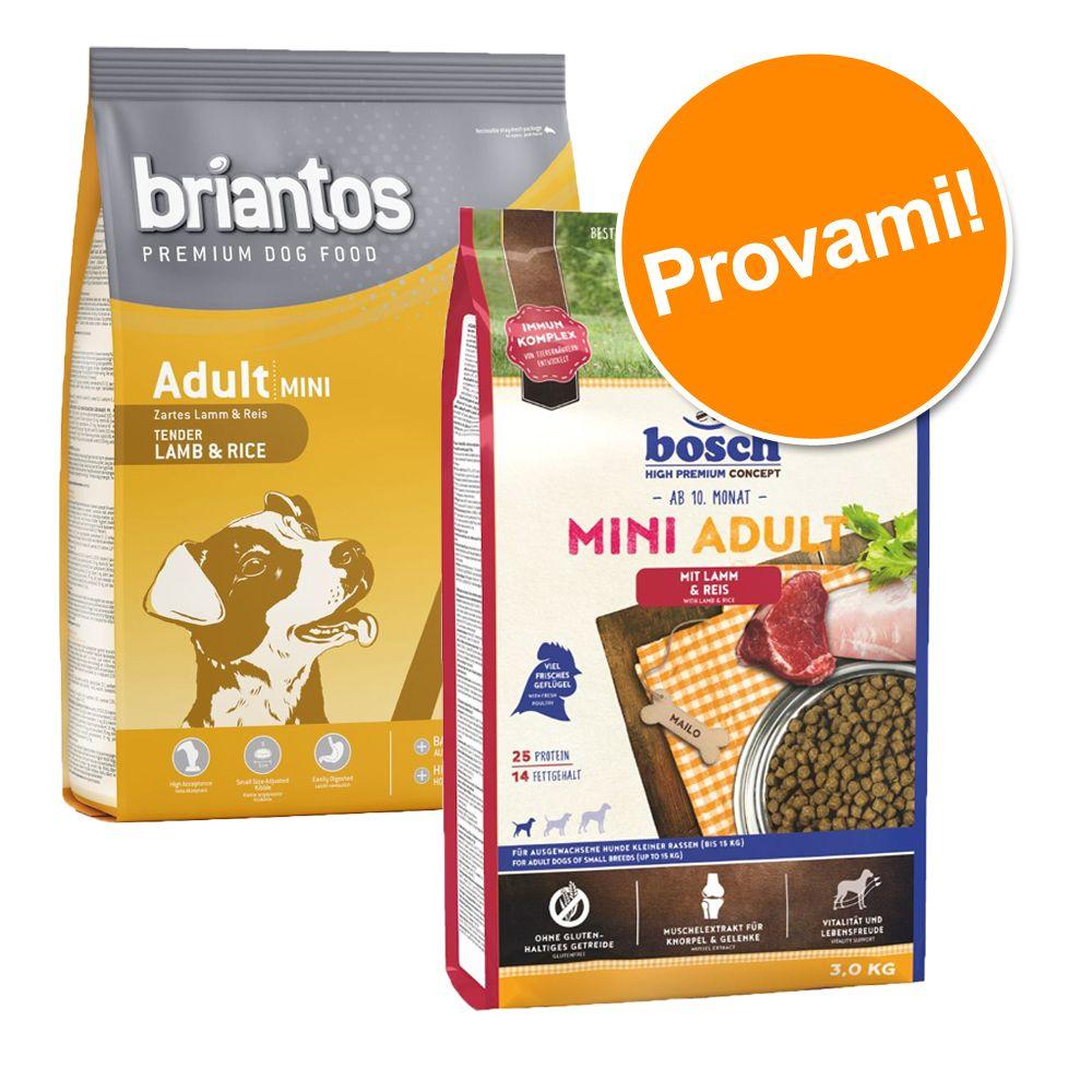 Image of Set prova Briantos & Bosch HPC Adult Mini - 3 kg Briantos + 3 kg Bosch