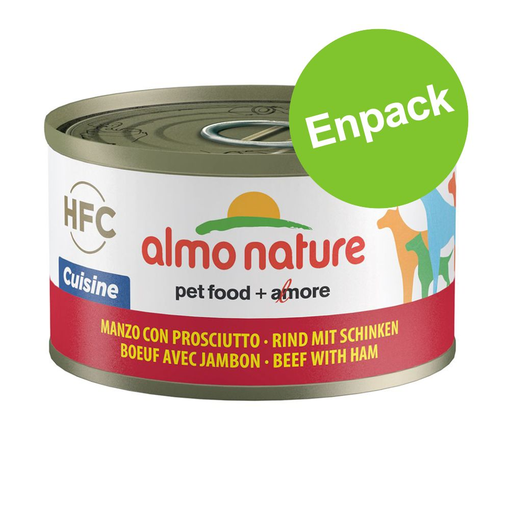 Almo Nature HFC 1 x 95 g - Kalv & skinka
