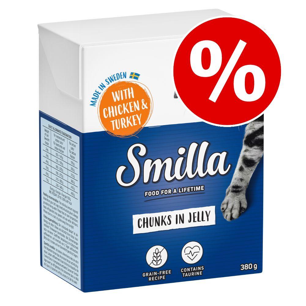 Økonomipakke: 24 x 370 / 380 g Smilla Bidder - Okse i gelé