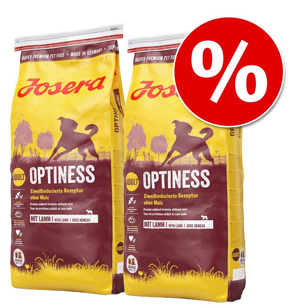 Ekonomipack: 2 x 15 eller 3 x 4 kg Josera hundfoder - Lax & potatis, spannmålsfritt