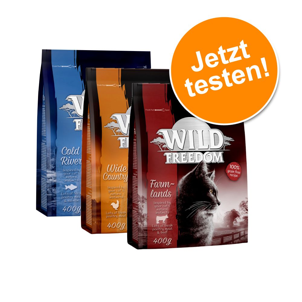Probiermix Wild Freedom - 3 x 2 kg Spirit of Europe, Africa, America