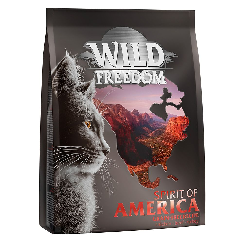 6kg Adult Spirit of America Wild Freedom Dry Cat Food