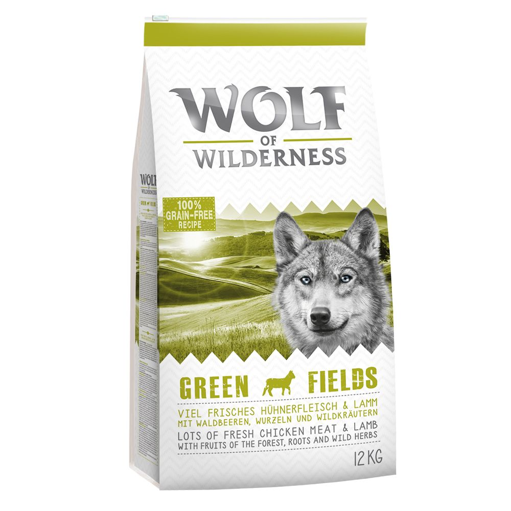 Adult Lamb Green Fields Wolf of Wilderness Dry Dog Food