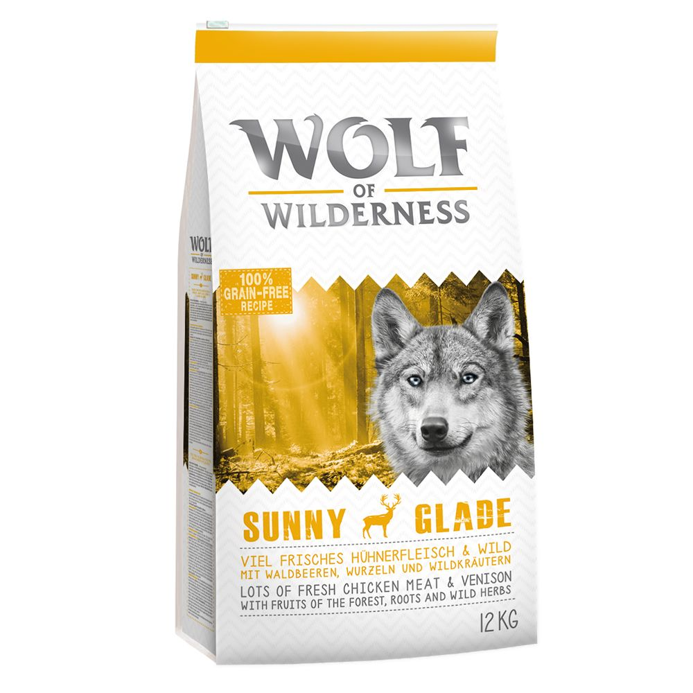 Venison Sunny Glade Wolf of Wilderness Dry Dog Food