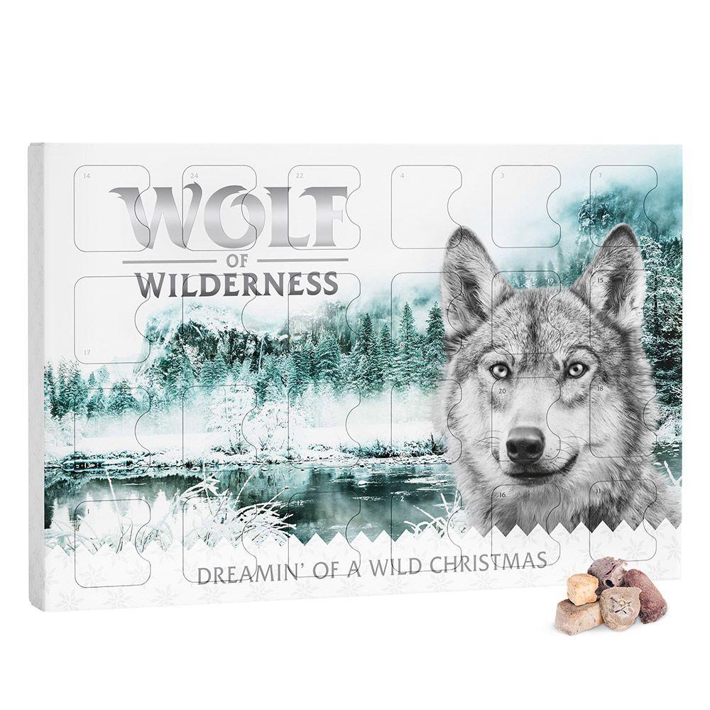 Wolf of Wilderness - Premium Snack adventskalender (spannmålsfri) - 201 g (3 x 67 g)