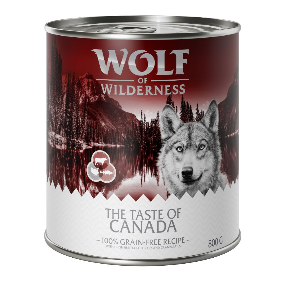 Beef Adult Taste of Canada Wolf of Wilderness Wet Dog Food