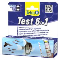 TetraTest 6 in 1 Water Test Strips - Economy Pack: 2 x 25 Test Strips