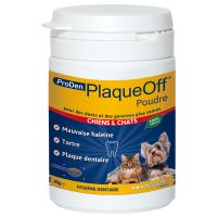 ProDen PlaqueOff Dental Care Powder for Dogs & Cats - Saver Pack: 2 x 40g