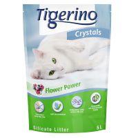 Tigerino Crystals Flower-Power Kattenbakvulling 5 l