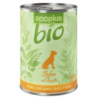 zooplus Bio Saver Pack 12 x 400g - Mixed Pack: Chicken, Turkey