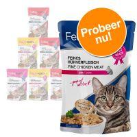 Gemengd Probeerpakket: 6 x 100 g Feline Porta 21 Kattenvoer Gemengd probeerpakket