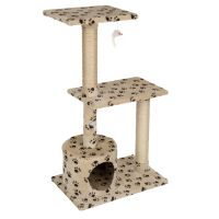Paws Cat Tree - Beige / Brown