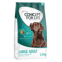 1.5kg Concept for Life Dry Dog Food - 50% Off!* - Medium Junior