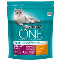 Purina ONE Urinary Care Chicken & Wheat Dry Cat Food - Economy Pack: 2 x 3kg