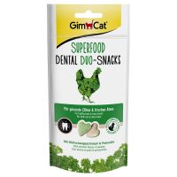 GimCat Superfood Dental Duo Cat Snacks - Saver Pack: 3 x 40g