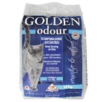 Dubbelpak 2 x 14 kg Golden Grey Odour Kattenbakvulling