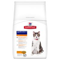1,5 kg Hill's Feline Light Mature Adult Senior Kip Kattenvoer