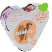 Pakiet próbny zoolove, kurczak i tuńczyk - 3 x 70 g